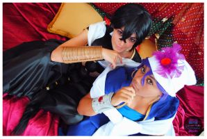 Magi: The labyrinth Of Magi by AnthyMichaelis