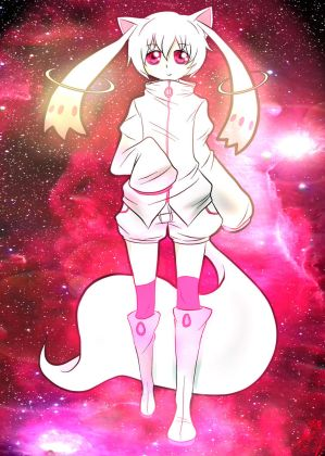 Human Kyubey by SpavVy