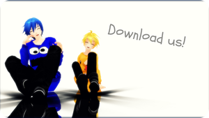 Hoodie Kaito and Len + DOWNLOAD by AmeliaRoseHedgehog