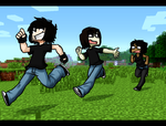 Lets Play Minecraft Together by Arlymone