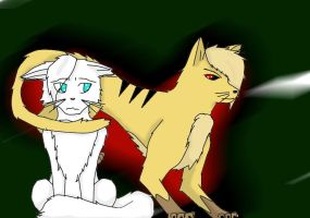 Warriors Snowstep and Hazelp by Insheba