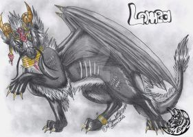 Dragon Lomea - new RPG Char by MoondragonEismond