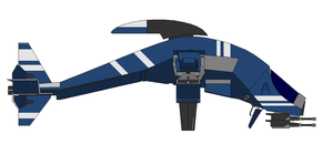 Mass Effect A-61 Mantis Gunship 2 by Seeras