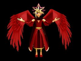 Atem Angel by MMDLowdisan