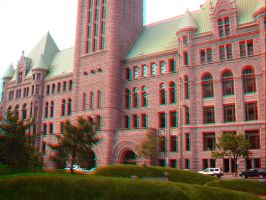 Old Minneapolis Courthouse 3D by LittleBigDave