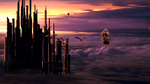 City in the Clouds by kado897
