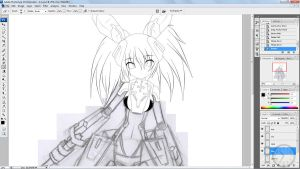 WIP Lily Redone by Xenosnake