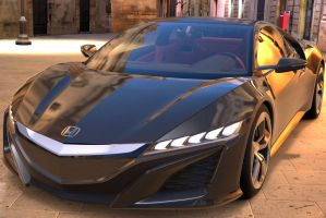 Honda NSX concept car by NightmareRacer85