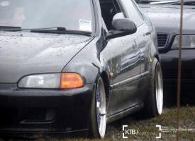 Honda Civic - Fast Show 2013 by K4T3Photography