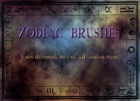 Zodiac Brushes by Dasha444