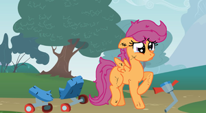 I have a boo boo.... by Sketchstar-mids-sis