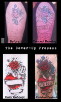 The Cover Up Process by patheticpeacepirate