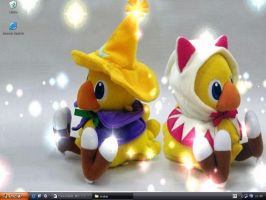 Chocobo Mage Wallpaper by MajinLu