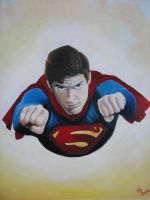 superman 2, christopher reeve by ARTIEFISHEL79