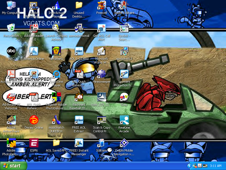 VG Cats Halo 2 by Krog-Lance