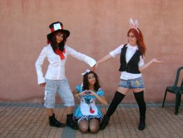 cosplay alice in wonderland by burdy05