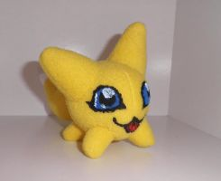 Viximon custom plush by Kitamon