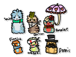 scarfblob adopts by crystalitier