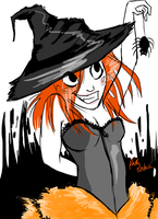 Halloween Witch 2011 by Tigersrock144