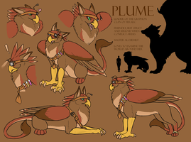 Plume Reference Sheet by FerianMoon