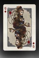 Queen of Diamonds by gerezon