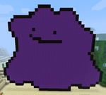 Ditto Minecraft Pixel Art by ScionGlory