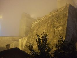Foggy Castle by lordcemonur