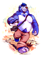 Blueberry Bears by super-tuler