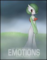 Gardevoir - Emotions by mewgal