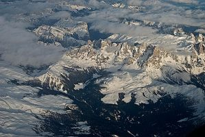 ALPS OVER ITALY by CorazondeDios