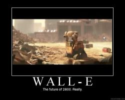 Wall-E motivation by Vetom