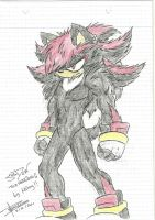 Sexy Shadow the hedgehog  Mimy by Mimy92Sonadow