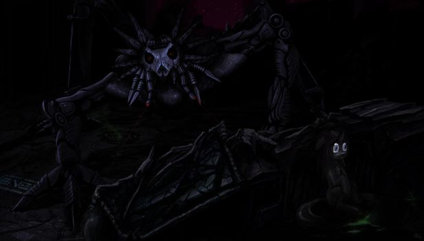 What lurks in the darkness by WillhemTier