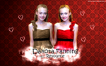 Dakota Fanning wallie by WeronikaG