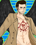 Castiel by Xylocist