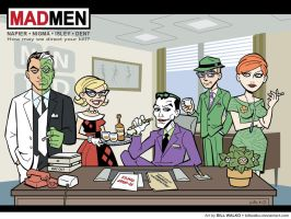 Gotham Mad Men by BillWalko