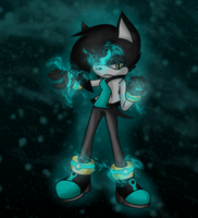 Future the Hedgehog by scifiEnchantress