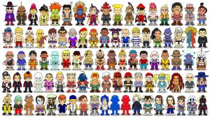 Street Fighter Wallpaper (All Characters) by BRIGAZ