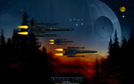 ROGUE ONE: BLACK SQUADRON X-WINGS by CSuk-1T