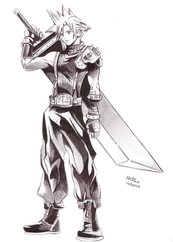 Cloud Dissidia by MartyIsi