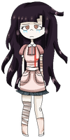 Mikan Tsumiki sprite by avatar-mabel