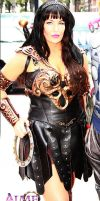 Xena Warrior Princess Cosplay at SDCC 2012 by captainjaze