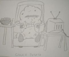 Couch Potato by TheSleeperAwakes