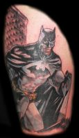 Batman and Superman Half Sleeve Phase 1 by Mr-Taboo