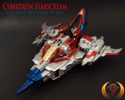 Cybertron Starscream WW G1 by Unicron9