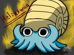 The Almighty Helix,Omanyte-Text Version 6 by Destiny-The-Hedgimon