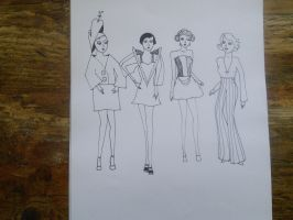 Hat and fashion design by andrea-gould