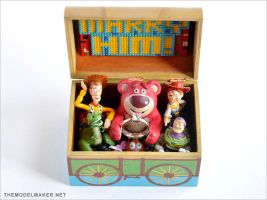 Toy Story Engagement Ring Box by artmik