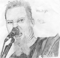 James Hetfield by IntoTheNothing