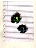 Eye practice. by teaylor